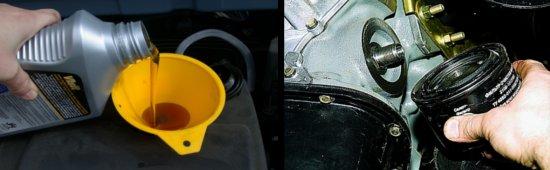 переводим двигатель с минерального масла на синтетику