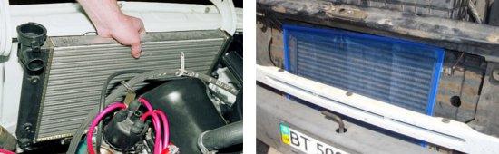 уход за автомобильным радиатором