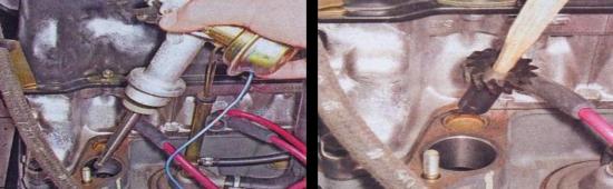Ваз 2105 — замена шестерни привода масляного насоса