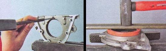 Как правильно заменить задний сальник коленвала на автомобиле ваз 2105