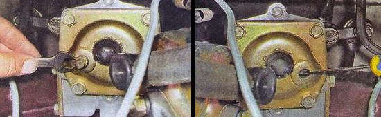 Проверка и замена масла в рулевом редукторе автомобиля ваз 2105