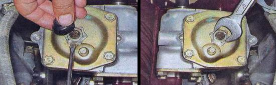 Регулировка червячных шестерен рулевого редуктора ваз 2105