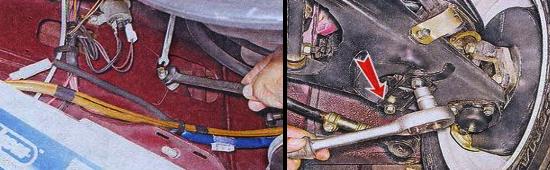 Замена передних амортизаторов на автомобиле Ваз 2105