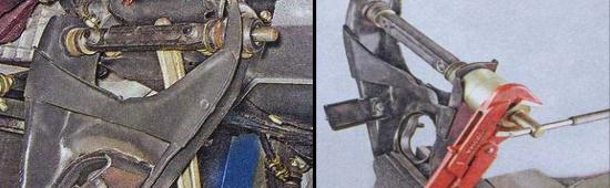 Замена сайлентблоков нижнего рычага Ваз 2105