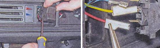 Замена клавишных выключателей Ваз 2105
