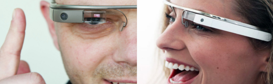 Применение очков Google Glass за рулем