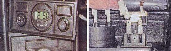 Регулятор освещения приборов Ваз 2105