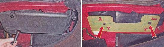 Как снять корпус заднего фонаря Ваз 2105