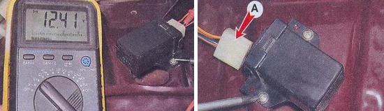 Блок управления электропневмоклапаном Ваз 2105