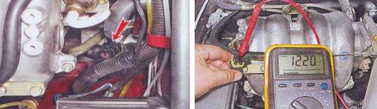 Проверка датчика концентрации кислорода Ваз 2105