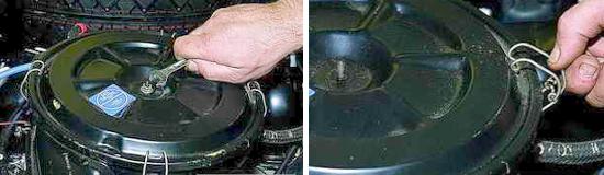 Замена фильтрующего элемента воздушного фильтра Нива 2121 и 2131