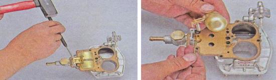 Замена поплавка и игольчатого клапана карбюратора Ваз 2105