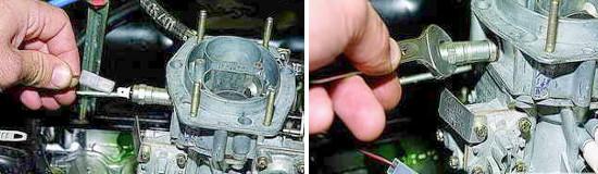 Замена электромагнитного клапана карбюратора Нива 2121 и 2131