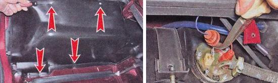 Как снять бензобак Ваз 2105