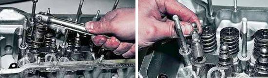 Как снять головку блока цилиндров Ваз 2121 и 2131 Нива