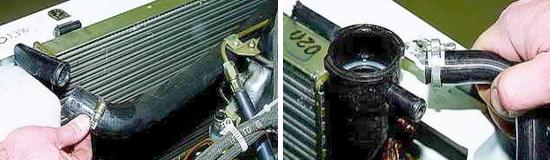 Как снять радиатор охлаждения Нива 2121 и 2131
