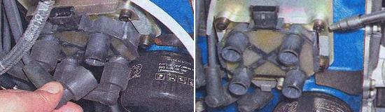 Замена катушки инжекторного двигателя Ваз 2105