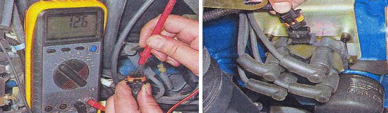 Проверка катушки зажигания инжекторного двигателя Ваз 2105