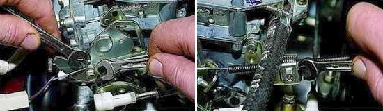 Замена привода воздушной заслонки Нива 2121 и 2131