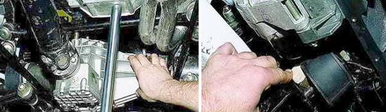 Замена прокладки поддона картера Ваз Нива 2121 и 2131