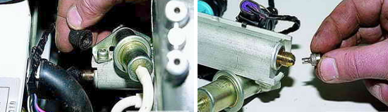 Проверка давления в топливной системе Нива 2121 и 2131
