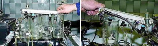 Проверка топливных форсунок Нива 2121 и 2131