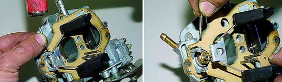 Как разобрать крышку карбюратора Нива 2121 и 2131