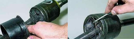 Разборка шарниров приводов передних колес нива 2121 и 2131