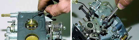 Регулировка пускового устройства карбюратора Нива 2121 и 2131