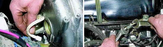 Как снять регулятор давления топлива Нива 2121 и 2131