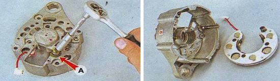 Генератор ваз 2105 ремонт своими руками