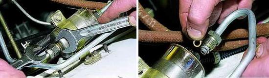 Топливный фильтр инжекторного двигателя Нива 2121 и 2131
