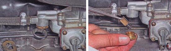Очистка топливного фильтра карбюратора Ваз 2105