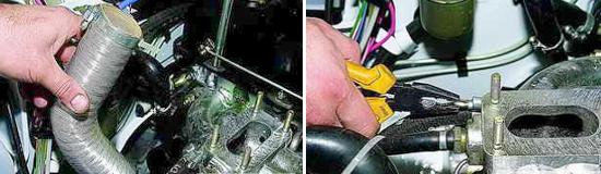 Замена прокладки впускного коллектора Ваз 2121 и 2131 Нива