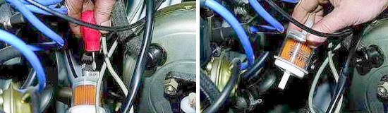 Замена топливного фильтра тонкой очистки Нива 2121 и 2131