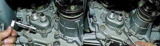 Корпус шестерен привода спидометра Нива 2121 и 2131