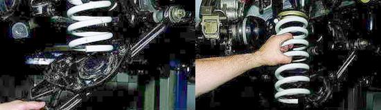 Передние пружины подвески Нива 2121 и 2131