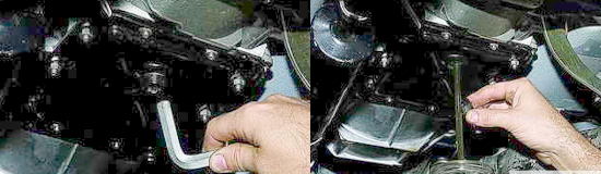 Замена масла в коробке передач Нива 2121 и 2131