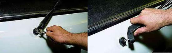 Снятие стеклоочистителя двери задка Ваз 2121 Нива 2131