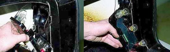 Замена ламп задних фонарей Ваз 2121 Нива 2131