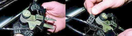 Как снять кронштейн рычагов управления отопителем Ваз 2121 Нива 2131