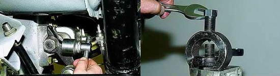 Замена рулевой сошки Ваз 2121 Нива 2131