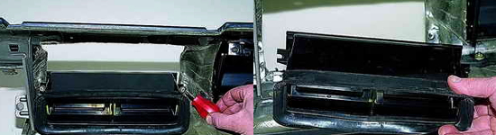 Замена сопл и воздухопроводов обогрева стекол Ваз 2121 Нива 2131