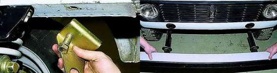 Как снять передний бампер Ваз 2121 Нива 2131