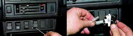 Как снять панель радиоприемника Ваз 2121 Нива 2131