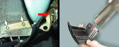 замена переднего заднего буфера автомобиля ваз 2106