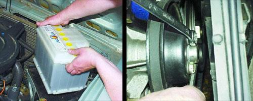 замена водяного насоса автомобиля ваз 2106