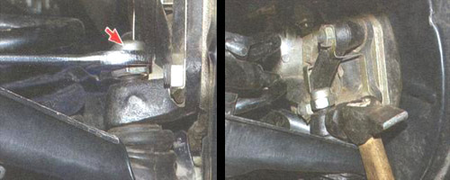замена передних пружин подвески автомобиля ваз 2106