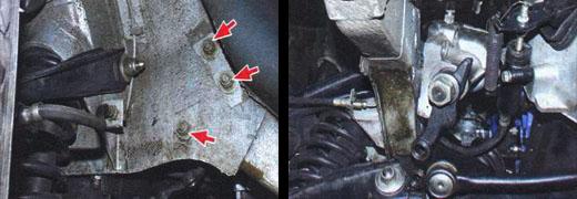 Осуществляем замену рулевого механизма на автомобиле ваз 2106