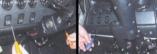 комбинация приборов на автомобиле ваз 2106